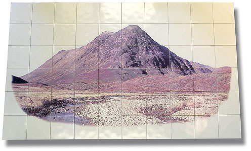 mountain tile-panel