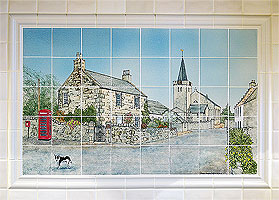 Kilrenny tile panel