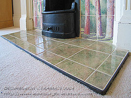 fireplace tiles hearth