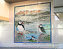 puffins cuillin skye tile panel