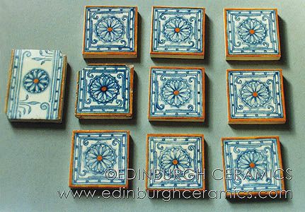 reproduction handpainted tiles