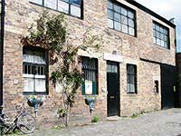 Ceramic Studio in old industrial building, Morningside Edinburgh